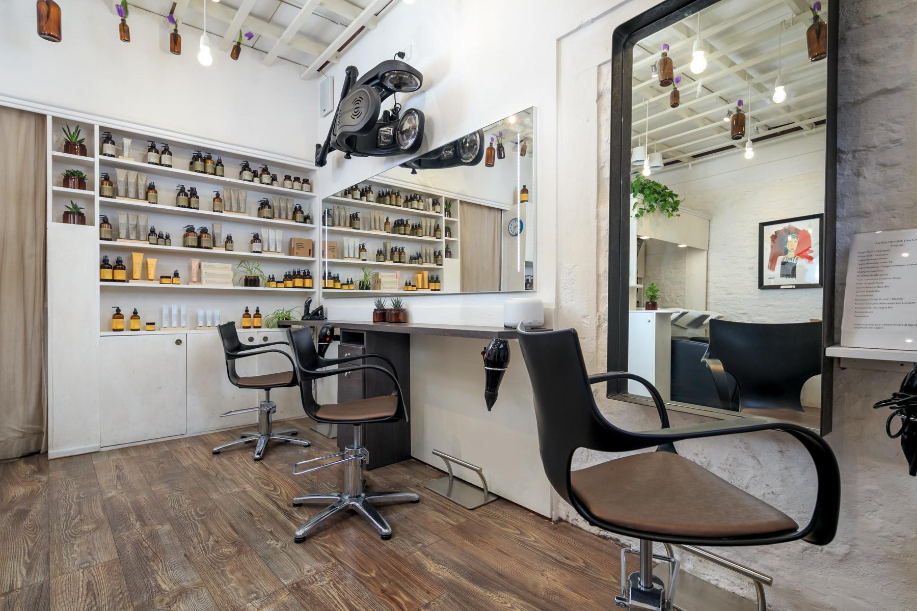 interni parrucchiere antica tintoria santo spirito